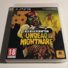 Videojuegos y Consolas: RED DEAD REDEMPTION UNDEAD NIGHTMARE. Lote 151573981