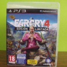 Videojuegos y Consolas: JUEGO FARCRY 4 EDICIÓN LIMITADA - PLAYSTATION 3 - PS3. Lote 151625646