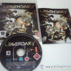 Videojuegos y Consolas: JUEGO PLAY 3 LEGENDARY. Lote 151668418