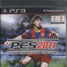Videojuegos y Consolas: PES 2011. PRO EVOLUTION SOCCER. VIDJUEG-208 . Lote 151851050