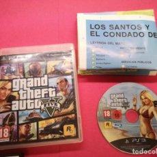 Videojuegos y Consolas: GTA V PS3 GRAND THEFT AUTO 5. Lote 151866226