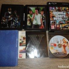 Videojuegos y Consolas: PS3 GRAND THEFT AUTO V (GTA V) EDICIÓN ESPECIAL PAL ESP . Lote 152187318