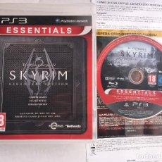 Videojuegos y Consolas: THE ELDER SCROLLS V SKYRIM 5 SCROLL PS3 PLAYSTATION 3 PLAY STATION 3 KREATEN . Lote 152325814