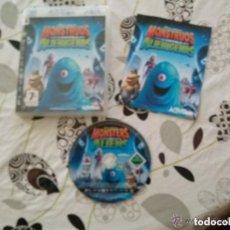 Videojuegos y Consolas: JUEGO PLAY 3 MONSTRUOS CONTRA ALIENIGENAS. Lote 152376582