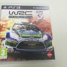 Videojuegos y Consolas: J- WRC 3 FIA WORLD RALLY PS3 PAL VERSION ESPAÑA CON INSTRUCCIONES . Lote 152461610