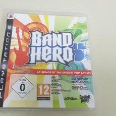 Videojuegos y Consolas: J- BAND HERO 65 SONGS PS3 VERSION EUROPEA CON INSTRUCCIONES . Lote 152463350