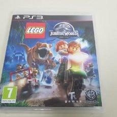 Videojuegos y Consolas: J- LEGO JURASSIC WORLD PS3 PAL VERSION ESPAÑA CON INSTRUCCIONES . Lote 152469186