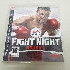 Videojuegos y Consolas: J- FIGHT NIGHT ROUND 3 PS3 . Lote 152469398