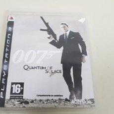 Videojuegos y Consolas: J- 007 QUANTUM OF SOLACE PAL VERSION ESPAÑA CON INSTRUCCIONES . Lote 152472302