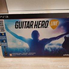 Videojuegos y Consolas: PS3 PLAY STATION 3 GUITARHERO GUITAR HERO LIVE **SEMINUEVO**. Lote 152472474
