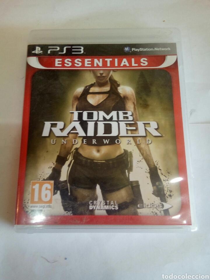 PS3 TOMB RAIDER (Juguetes - Videojuegos y Consolas - Sony - PS3)