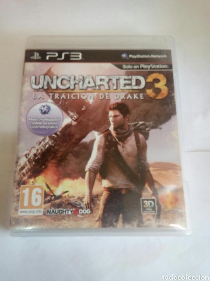 PS3 UNCHARTED 3 (Juguetes - Videojuegos y Consolas - Sony - PS3)