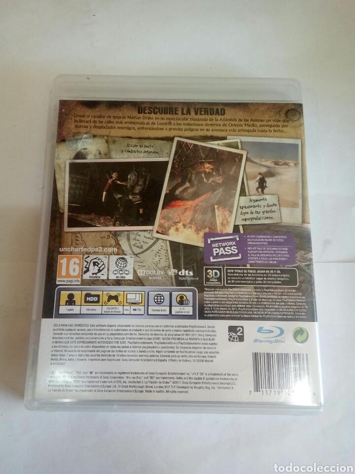 Videojuegos y Consolas: PS3 UNCHARTED 3 - Foto 2 - 152751993