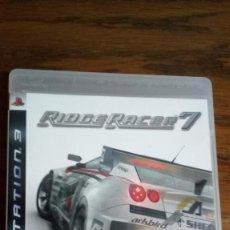 Videojuegos y Consolas: RIDGE RACER 7. Lote 153160082