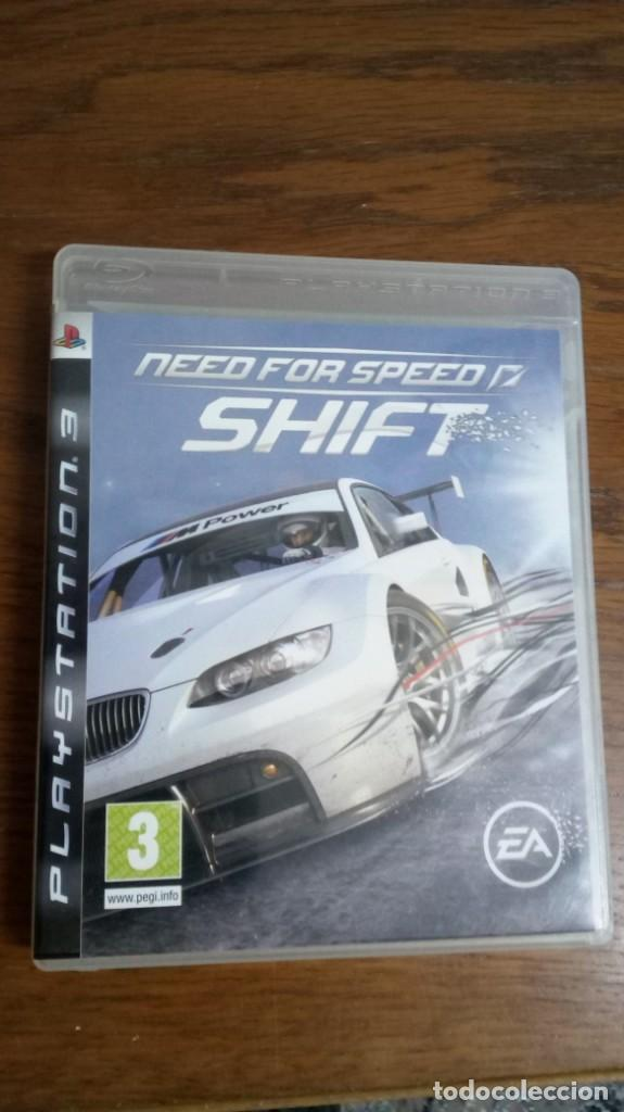 NEED FOR SPEED SHIFT (Juguetes - Videojuegos y Consolas - Sony - PS3)