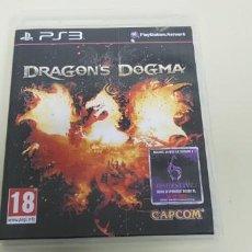 Videojuegos y Consolas: J- DRAGONS DOGMA PS3 VERSION ESPAÑOLA . Lote 153241594