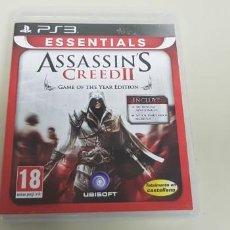 Videojuegos y Consolas: J- ASSASINS CREEED 2 PS3 VERSION ESPAÑOLA JUEGO Y VERSION MUY DIFICIL DE CONSEGUIR . Lote 153242150