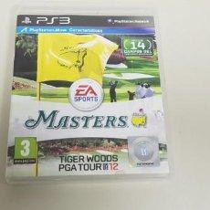 Videojuegos y Consolas: J- MASTERS TIGER WOODS PGA TOUR 2012 PS3 VERSION ESPAÑOLA . Lote 153243174