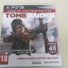 Videojogos e Consolas: J- TOMB RAIDER PS3 VERSION EUROPEA RARO!!!!!!!. Lote 153244202
