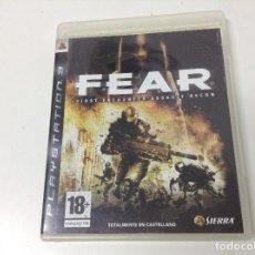 Videojuegos y Consolas: FEAR FIRST ENCOUNTER ASSAULT RECON. Lote 177697738