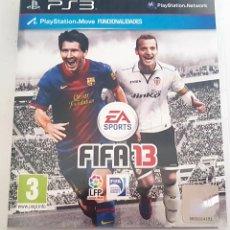 Videojuegos y Consolas: FIFA 13 PARA PS3. Lote 153408728