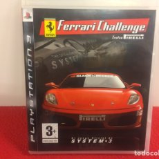 Videojuegos y Consolas: FERRARI CHALLENGER. PLAYSTATION 3. Lote 156676444