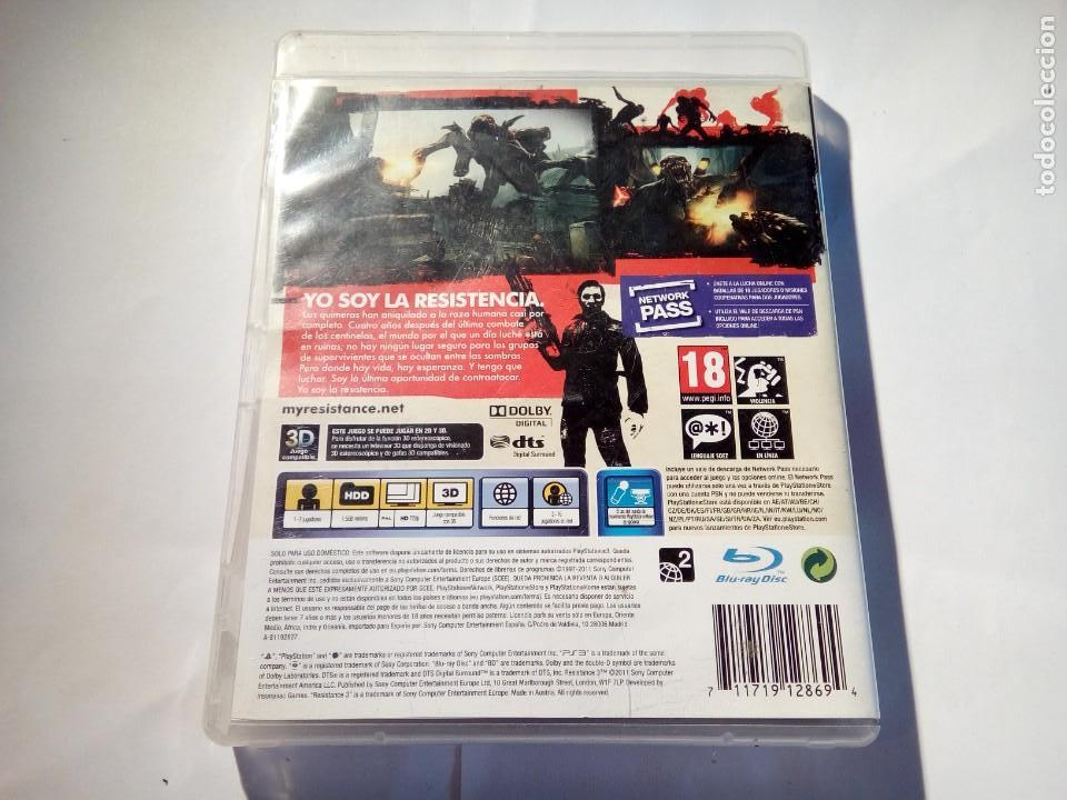 Videojuegos y Consolas: JUEGO DE PS3 RESISTANCE 3 - Foto 2 - 156734642