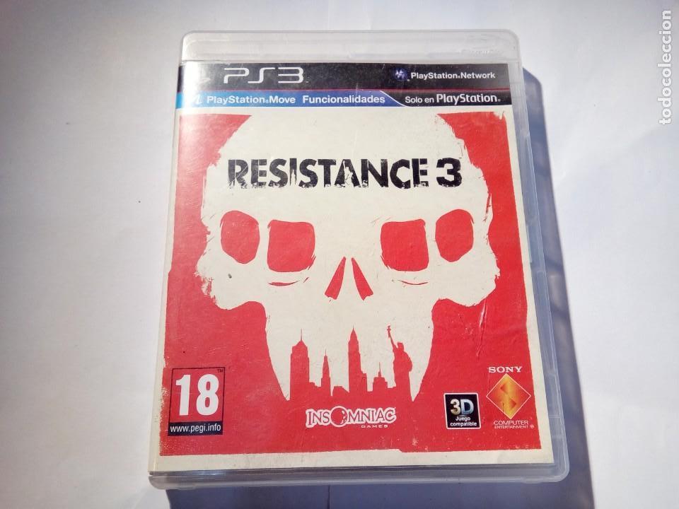 JUEGO DE PS3 RESISTANCE 3 (Juguetes - Videojuegos y Consolas - Sony - PS3)