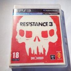 Videojuegos y Consolas: JUEGO DE PS3 RESISTANCE 3. Lote 156734642