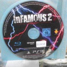 Videojuegos y Consolas: INFAMOUS 2 - PS3 PLAYSTATION 3. Lote 156974986