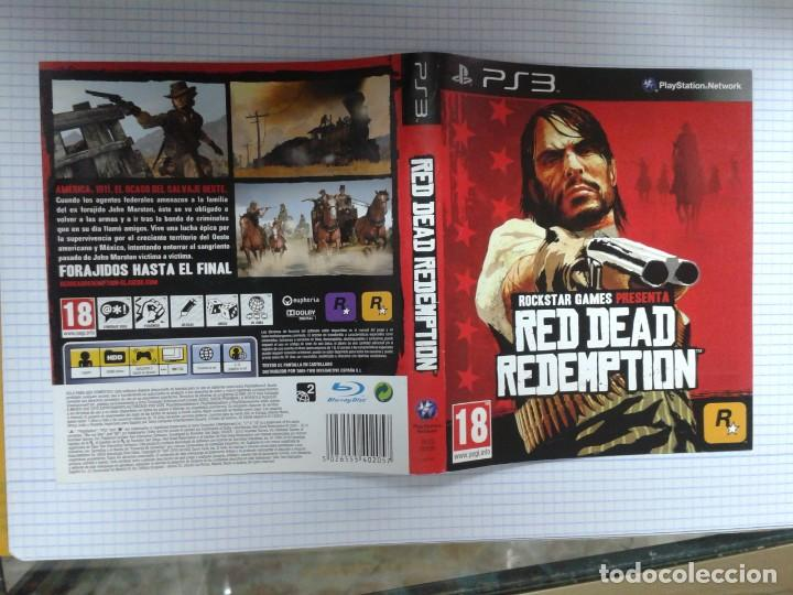 CARATULA  RED DEAD REDEMPTION  PS3