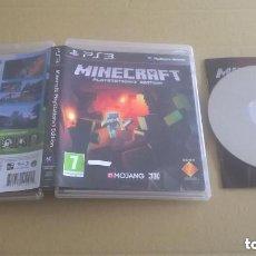 Videojuegos y Consolas: JUEGO PLAY 3 MINECRAFT. Lote 157990022