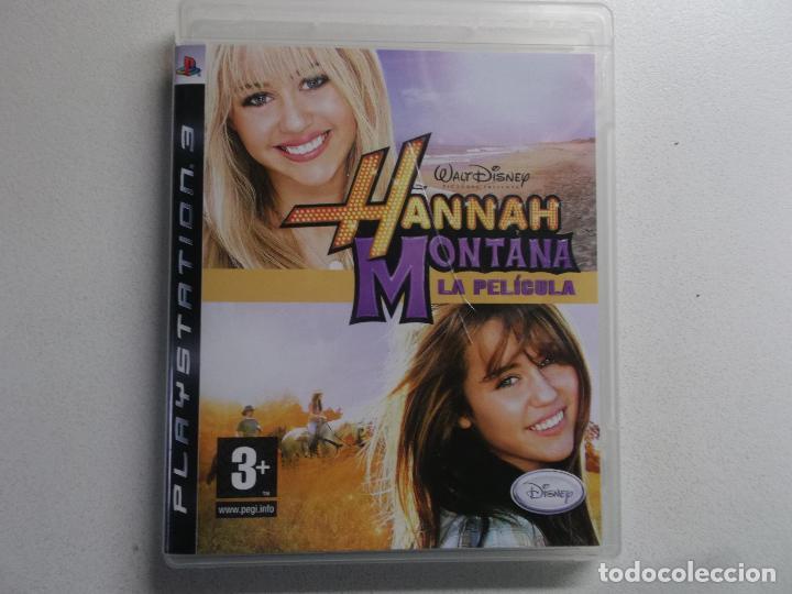 PLAYSTATION 3 PS3 JUEGO HANNAH MONTANA LA PELICULA (Juguetes - Videojuegos y Consolas - Sony - PS3)