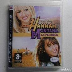 Videojuegos y Consolas: PLAYSTATION 3 PS3 JUEGO HANNAH MONTANA LA PELICULA. Lote 158596242
