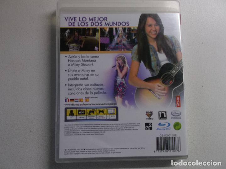 Videojuegos y Consolas: PLAYSTATION 3 PS3 JUEGO HANNAH MONTANA LA PELICULA - Foto 2 - 158596242
