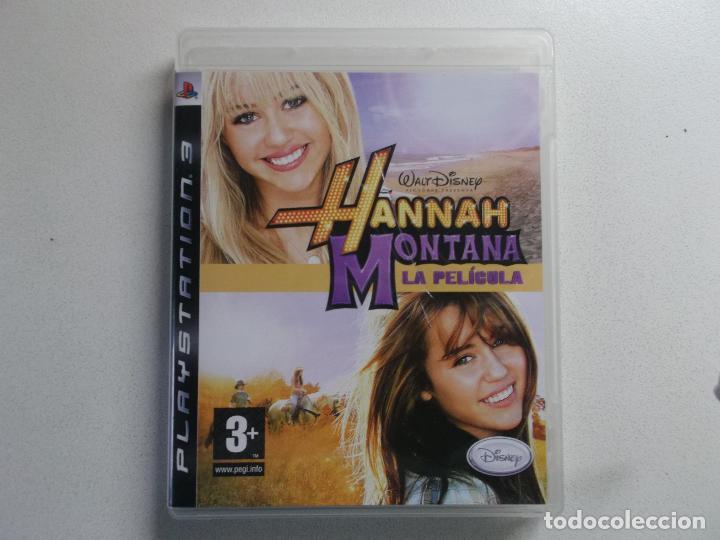 Videojuegos y Consolas: PLAYSTATION 3 PS3 JUEGO HANNAH MONTANA LA PELICULA - Foto 4 - 158596242