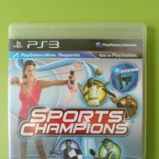 Videojuegos y Consolas: SPORTS CHAMPIONS PS3. Lote 183901253