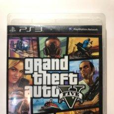 Videojuegos y Consolas: GRAND THEFT AUTO V PS3. Lote 159218212