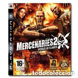 JUEGO PLAY 3 MERCENARIES 2 WORLD IM FLAMES (Juguetes - Videojuegos y Consolas - Sony - PS3)