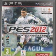 Videogiochi e Consoli: PES 2012 PRO EVOLUTION SOCCER. JUEGO PLAYSTATION 3 PS3 FUTBOL KONAMI / VDJ-008. Lote 159348622