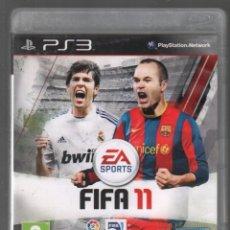 Videogiochi e Consoli: PLAY STATION 3. FIFA 11. VDJ-009. Lote 159348990