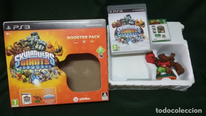 SKYLANDERS GIANTS PARA PS3 BOOSTER PACK (Juguetes - Videojuegos y Consolas - Sony - PS3)