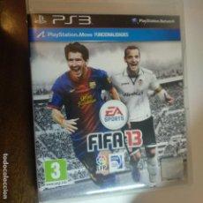 Videojuegos y Consolas: SONY PLAYSTATION 3 PS3 EA SPORTS FIFA 13. Lote 159911114
