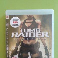 Videojuegos y Consolas: TOMB RAIDER UNDERWORLD PS3. Lote 170656045