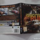 Videojuegos y Consolas: NED FOR SPEED THE RUN (SOLO CARATULA). Lote 160357446