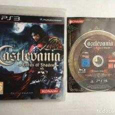 Videojuegos y Consolas: CASTLEVANIA LORDS OF SHADOW KONAMI LORD SHADOWS PS3 PLAY STATION 3 PLAYSTATION 3 KREATEN. Lote 161143846