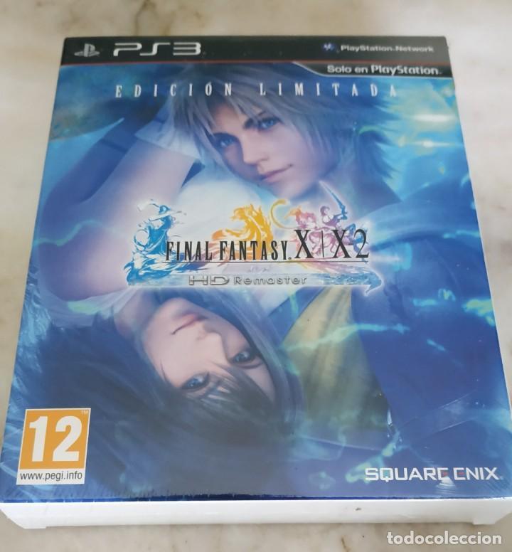 FINAL FANTASY X - X2 REMASTER HD EDICIÓN COLECCIONISTA (NUEVO Y SIN ABRIR) - PS3 LIBRO (Juguetes - Videojuegos y Consolas - Sony - PS3)