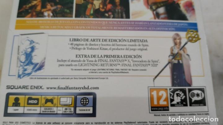 Videojuegos y Consolas: Final Fantasy X - X2 Remaster HD Edición Coleccionista (Nuevo y sin abrir) - PS3 Libro - Foto 3 - 162370126
