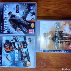 Videojuegos y Consolas: PS3. WATCH DOGS, CALL OF DUTY MODERN WARFARE 2 Y SKATE. Lote 162400624