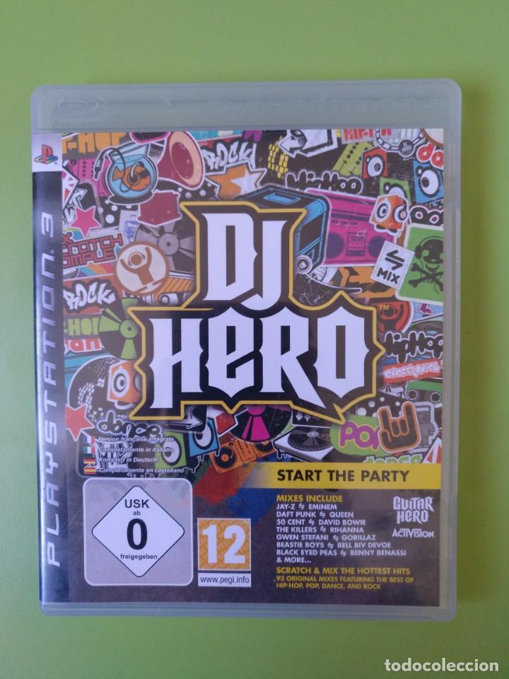 DJ HERO PS3 (Juguetes - Videojuegos y Consolas - Sony - PS3)